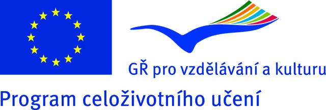 Logo Programu celoživotního vzdělávání